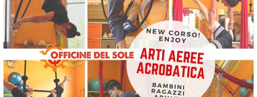 Ben noto NEW Corso Arti Aeree e Acrobatica per bambini, ragazzi e adulti  BQ94