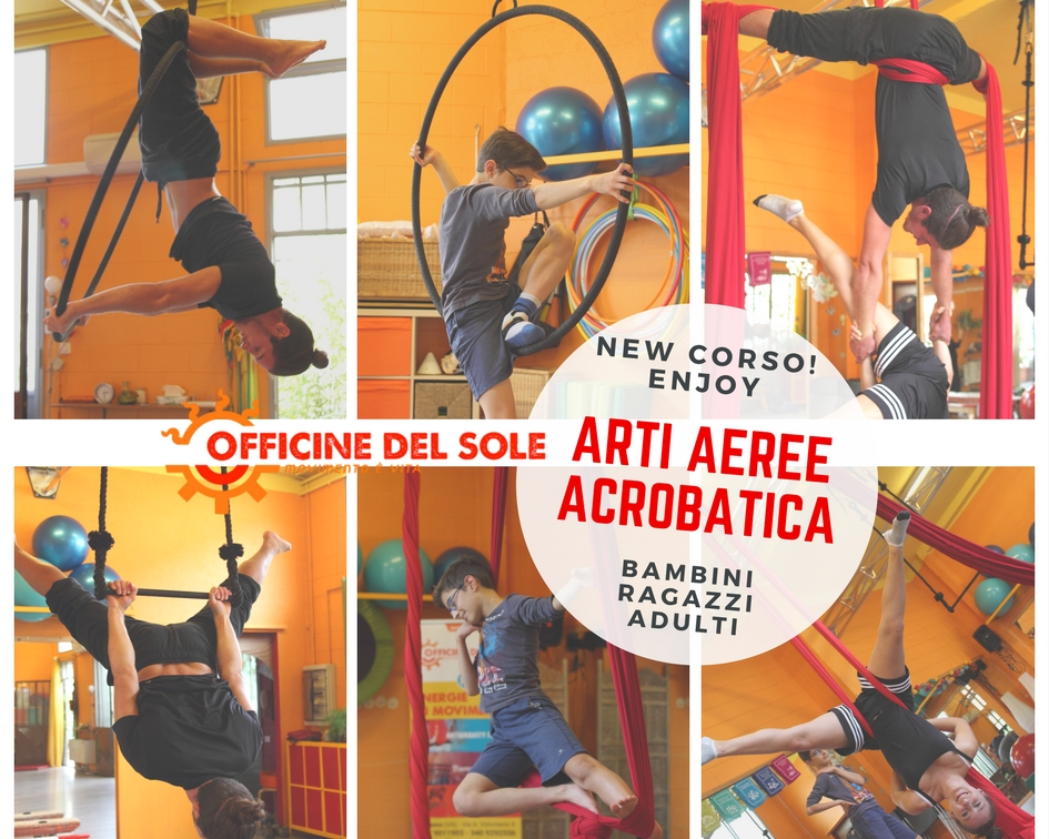 Conosciuto NEW Corso Arti Aeree e Acrobatica per bambini, ragazzi e adulti  JM07